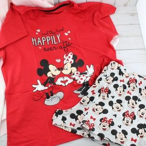 Mickey & Minnie Mouse Happily Ever After PJ Set